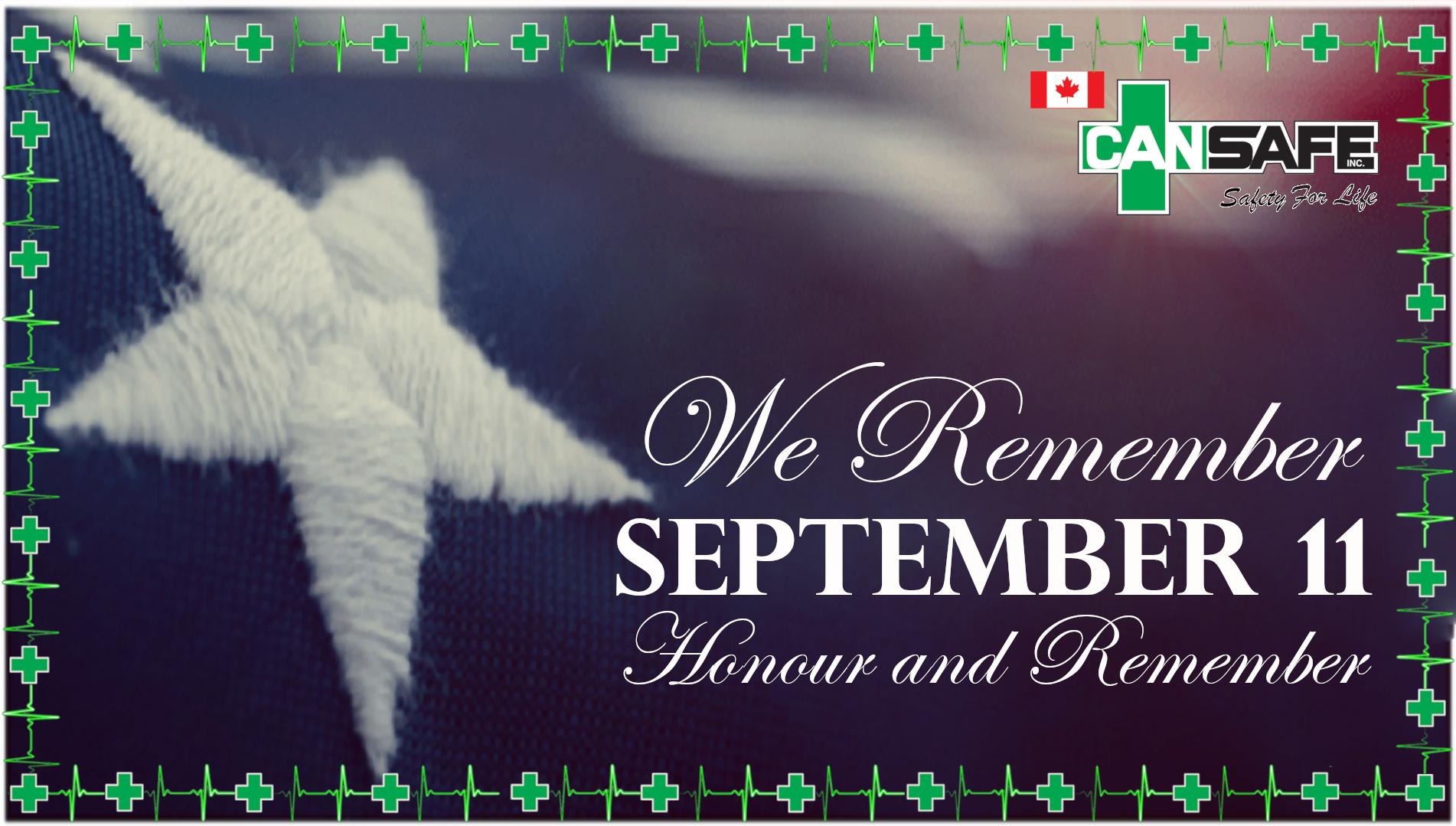 Remembering September 11th 2001