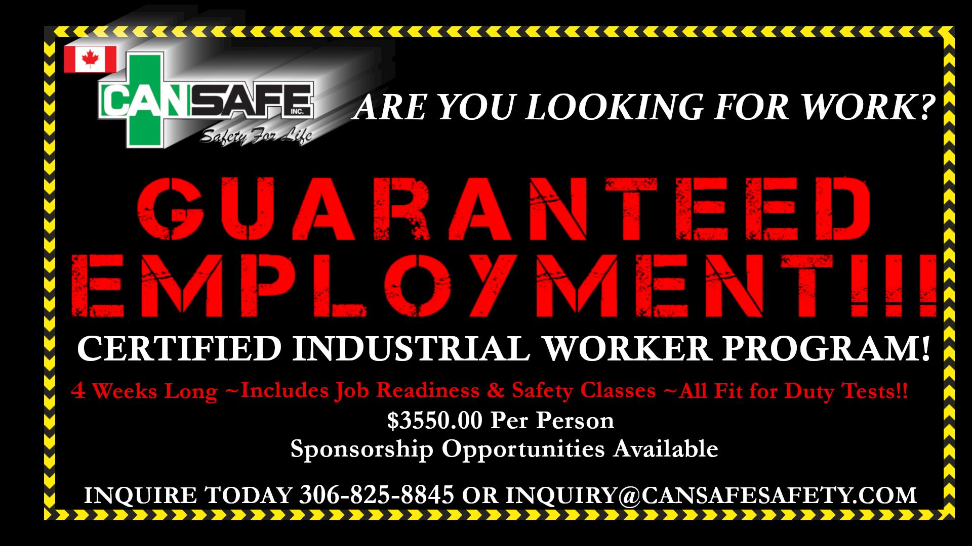 Certified Industrial Worker Program